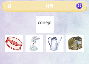 Play the latest Spanish game